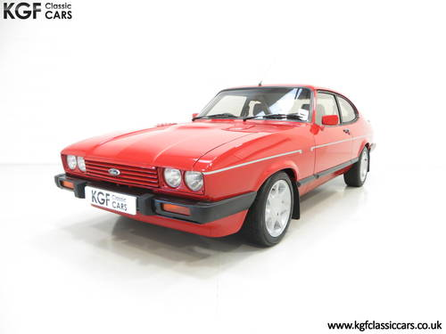 1983 The Ultimate Ford Capri 2.8 Injection Turbo Technics SOLD (picture 2 of 6)