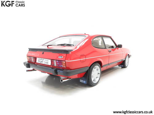 1983 The Ultimate Ford Capri 2.8 Injection Turbo Technics SOLD (picture 5 of 6)
