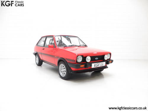 1983 An Untouched Ford Fiesta Mk1 XR2, 26,514 Miles & One Owner SOLD (picture 1 of 6)