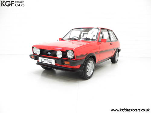 1983 An Untouched Ford Fiesta Mk1 XR2, 26,514 Miles & One Owner SOLD (picture 2 of 6)