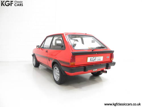 1983 An Untouched Ford Fiesta Mk1 XR2, 26,514 Miles & One Owner SOLD (picture 4 of 6)