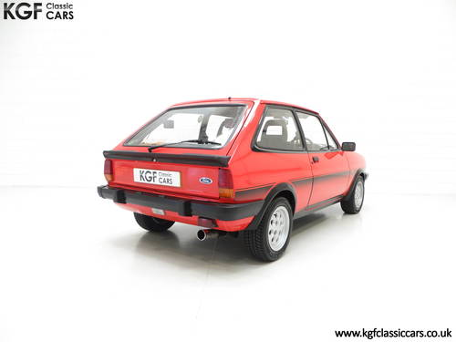 1983 An Untouched Ford Fiesta Mk1 XR2, 26,514 Miles & One Owner SOLD (picture 5 of 6)