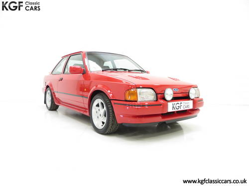 1987 A Very Early Ford Escort RS Turbo Series 2 with 60897 Miles SOLD (picture 1 of 6)