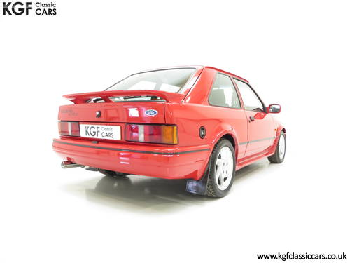1987 A Very Early Ford Escort RS Turbo Series 2 with 60897 Miles SOLD (picture 5 of 6)