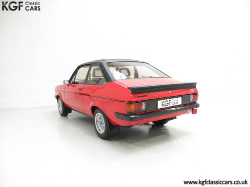 1980 A Factory Perfect Ford Escort Mk2 RS2000 Custom, 27187 Miles SOLD (picture 4 of 6)