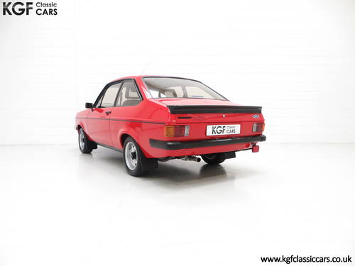 1980 A Ford Escort Mk2 RS2000 Base, One Registered Owner from New SOLD (picture 4 of 6)