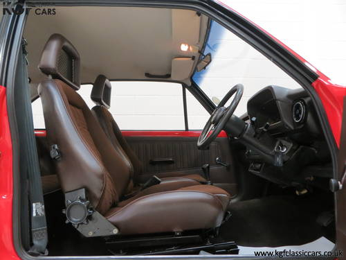 1980 A Ford Escort Mk2 RS2000 Base, One Registered Owner from New SOLD (picture 6 of 6)
