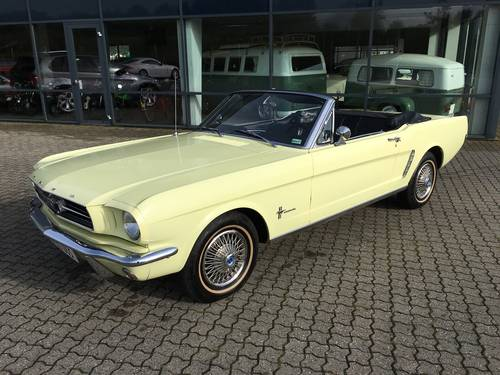 1965 Ford Mustang 3,3 Cabriolet  SOLD (picture 1 of 6)