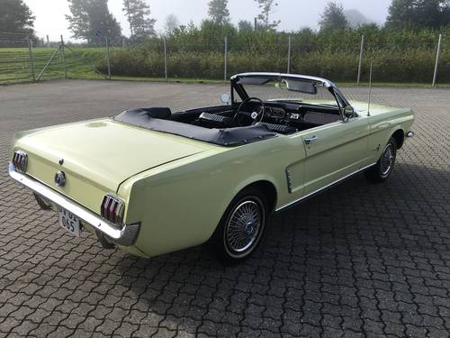 1965 Ford Mustang 3,3 Cabriolet  SOLD (picture 2 of 6)