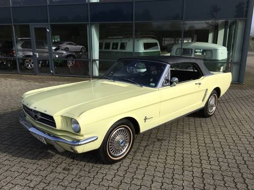1965 Ford Mustang 3,3 Cabriolet  SOLD (picture 3 of 6)