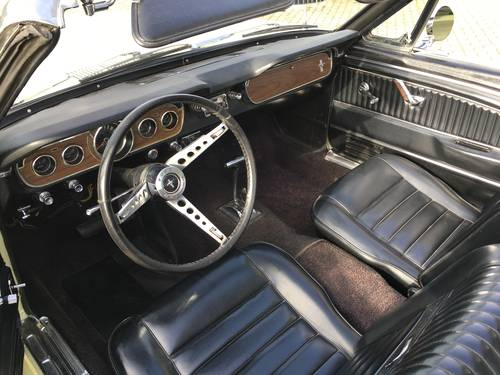 1965 Ford Mustang 3,3 Cabriolet  SOLD (picture 5 of 6)