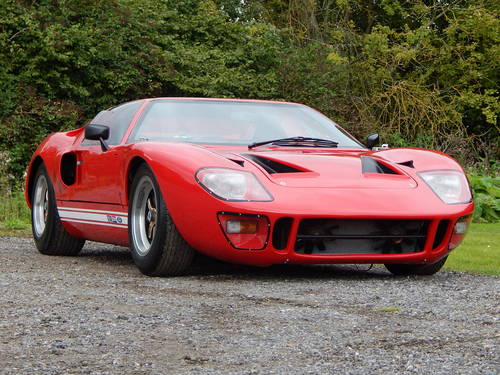 1968 GT40 Mark V powered by Ford (genuine Safir continuation car) SOLD (picture 1 of 6)