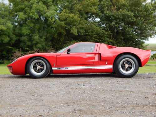1968 GT40 Mark V powered by Ford (genuine Safir continuation car) SOLD (picture 2 of 6)