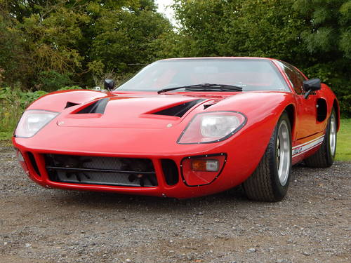 1968 GT40 Mark V powered by Ford (genuine Safir continuation car) SOLD (picture 4 of 6)