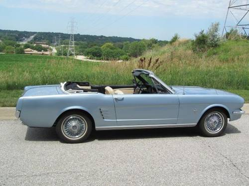1966 Ford Mustang Convertible For Sale (picture 1 of 6)