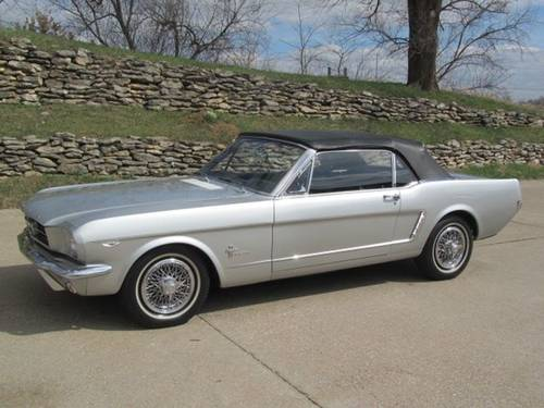 1965 Ford Mustang Convertible For Sale (picture 1 of 6)