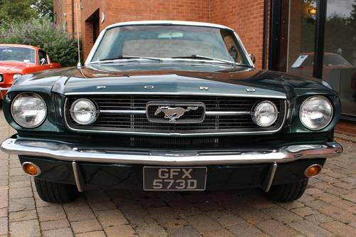 1966 Ford Mustang GT Hardtop Coupe - 3-speed manual SOLD (picture 2 of 6)