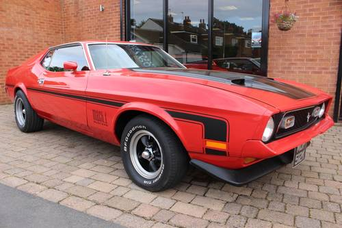 1972 Ford Mustang Mach 1 351 Cobra-Jet - Fully Restored  SOLD (picture 1 of 6)
