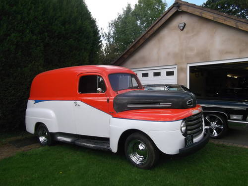 1948 F100 Panel Van 327 V8 Automatic Real Cool Cruiser Sold Car