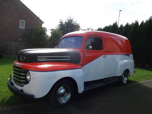 1948 F100 Panel Van 327 V8 Automatic Real Cool Cruiser  SOLD (picture 6 of 6)