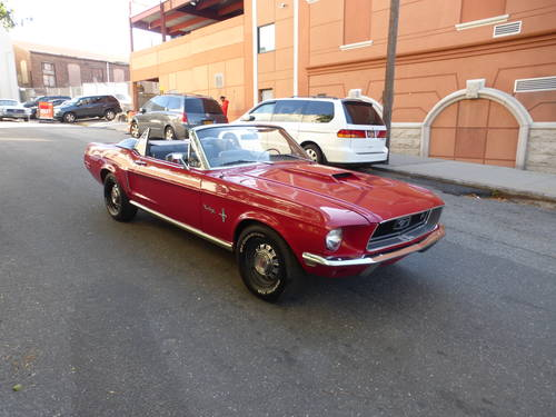 1968 Ford Mustang 289 Convt. Nice Driver - SOLD (picture 1 of 6)