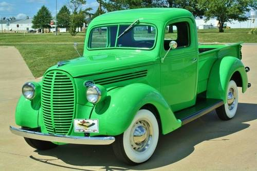 1938 Ford Pickup Flat Head V8 Frame Off Restored For Sale (picture 1 of 6)