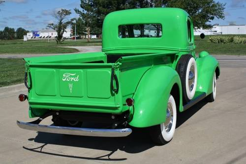 1938 Ford Pickup Flat Head V8 Frame Off Restored For Sale (picture 2 of 6)