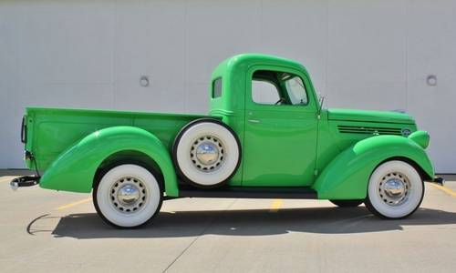 1938 Ford Pickup Flat Head V8 Frame Off Restored For Sale (picture 3 of 6)