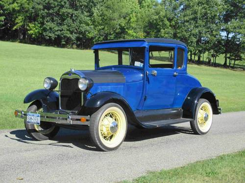 1929 Ford Model A Coupe For Sale (picture 1 of 6)