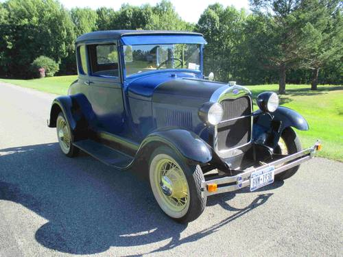 1929 Ford Model A Coupe For Sale (picture 2 of 6)