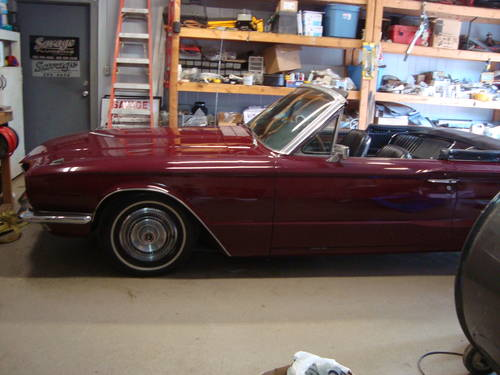 1966 Ford Thunderbird Convertile  For Sale (picture 1 of 6)