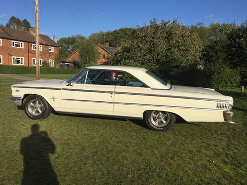 Ford Galaxie 500 390 big block coupe 1963 swap px For Sale (picture 3 of 6)