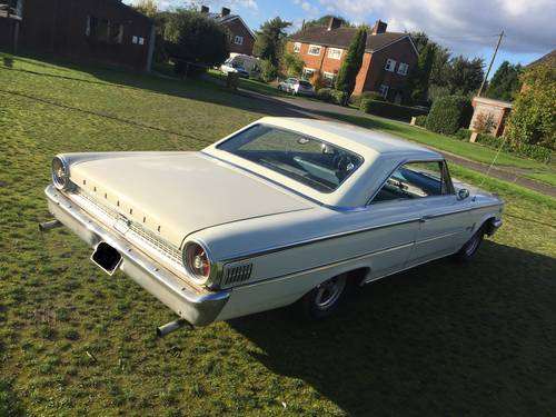 Ford Galaxie 500 390 big block coupe 1963 swap px For Sale (picture 4 of 6)