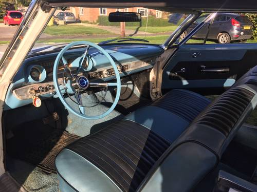 Ford Galaxie 500 390 big block coupe 1963 swap px For Sale (picture 5 of 6)