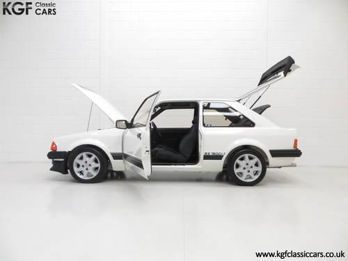 1983 A Legendary Ford Motorsport Developed Escort RS1600i SOLD (picture 3 of 6)