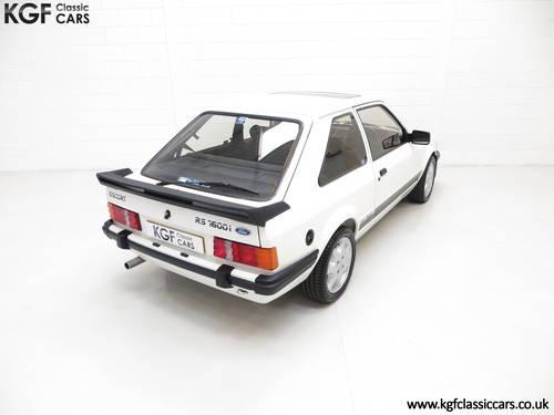 1983 A Legendary Ford Motorsport Developed Escort RS1600i SOLD (picture 5 of 6)