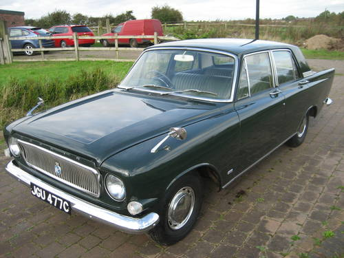1965 Ford Zephyr 4 Mk 3. 16,000 miles and 1 owner from new! SOLD (picture 1 of 6)