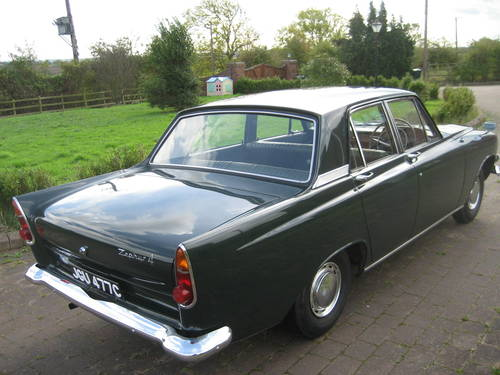 1965 Ford Zephyr 4 Mk 3. 16,000 miles and 1 owner from new! SOLD (picture 2 of 6)