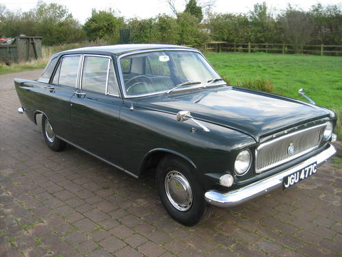 1965 Ford Zephyr 4 Mk 3. 16,000 miles and 1 owner from new! SOLD (picture 3 of 6)