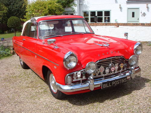 1958 FORD ZEPHYR MK II CONVERTIBLE   75,000 MILES ONLY SOLD (picture 4 of 6)