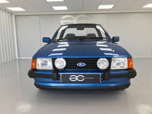 1985 MK3 Ford Escort 1.6i Cabriolet - 65k miles  SOLD (picture 1 of 6)