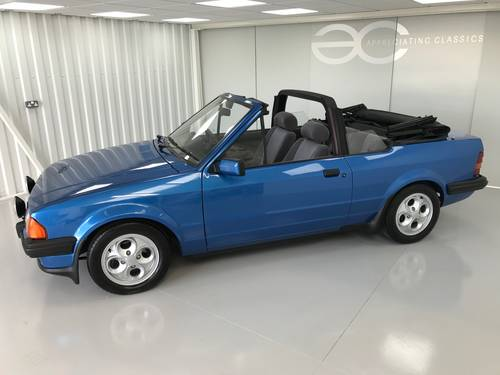 1985 MK3 Ford Escort 1.6i Cabriolet - 65k miles  SOLD (picture 2 of 6)