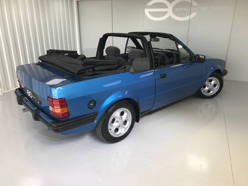1985 MK3 Ford Escort 1.6i Cabriolet - 65k miles  SOLD (picture 3 of 6)