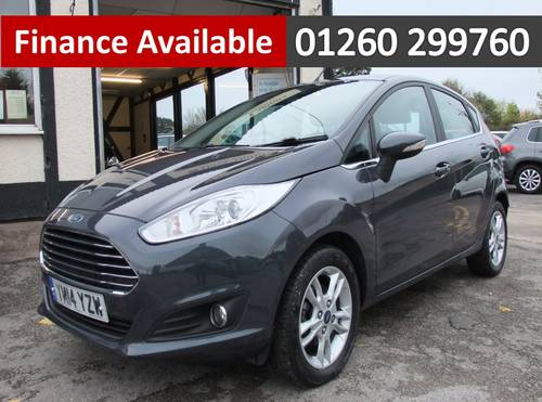 2014 FORD FIESTA 1.5 ZETEC TDCI 5DR SOLD (picture 1 of 6)