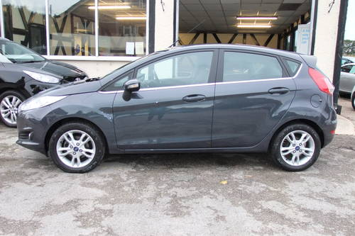 2014 FORD FIESTA 1.5 ZETEC TDCI 5DR SOLD (picture 2 of 6)