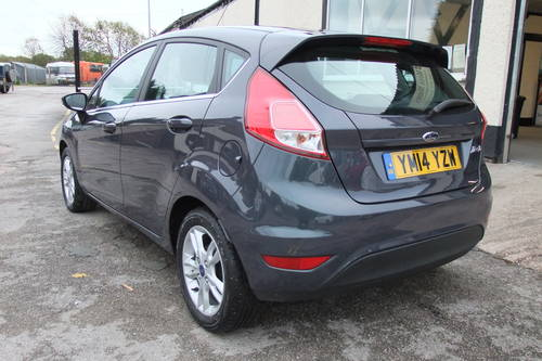 2014 FORD FIESTA 1.5 ZETEC TDCI 5DR SOLD (picture 3 of 6)
