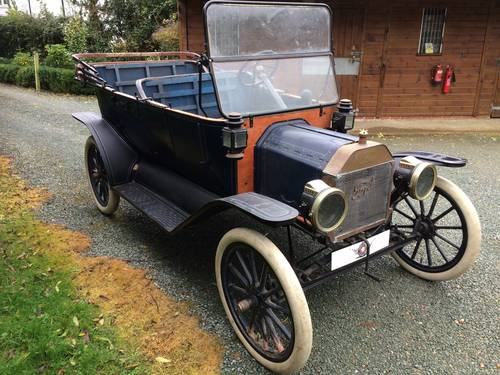 Vintage 1913 Ford Model T Touring - Amazing Project SOLD (picture 1 of 3)