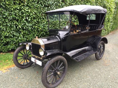 Incredible 1916 Ford Model T Touring - Not Used Since 1948 SOLD (picture 1 of 3)