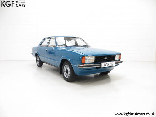 1979 A Ford Cortina Mk4 1600L, 40,249 Miles in Amazing Condition SOLD (picture 1 of 6)