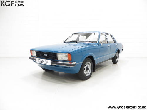 1979 A Ford Cortina Mk4 1600L, 40,249 Miles in Amazing Condition SOLD (picture 2 of 6)